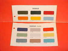 1966 DODGE PICKUP TRUCK POWER WAGON CREW CAB SPORTSMAN PANEL VAN PAINT CHIPS 66