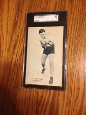 Jack Dempsey Exhibits Card Vintage ,Graded SGC VG3