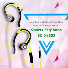 EDOX ED-XBS02 In-Ear Sport Earphones Mic Earbuds Headphones Stereo Super Bass