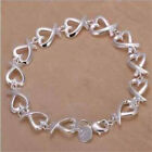 New Ladies  Mens Jewellery Solid 925Silver kelp Chain Bracelet Necklace Ring