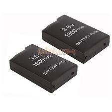 2X New 3.6V 1800MAH Rechargeable Battery For Sony PSP-110 PSP-1001 PSP 1000 7Z