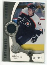 2005-06 SP Game Used 115 Mike Richards Rookie 667/999