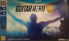 Guitar Hero: Live Nintendo Wii U - NEU & OVP - Deutsche Version!