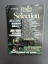 Selection Reader's Digest Magazine Mensuel Septembre 1996 Frncais  Neuf