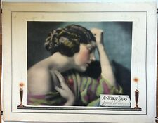 NO WOMAN KNOWS (1921) Directed by Tod Browning Universal Half-Sheet GORGEOUS!