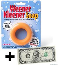 Weener Cleaner Willy Adult Soap Gag + 1 Million Bill ~ Big Mouth Toys