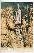 CP 80 SOMME - Souterrains-refuges de Naours - Statue érigée dans la Rotonde
