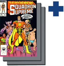 •.•  SQUADRON SUPREME (VOL.1) • Issues 6,7,8 • «3 Comic Set»