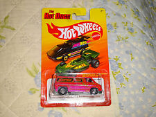 HOT WHEELS THE HOT ONES - PINK SUPER VAN - 70'S VAN - LIGHTNING FAST - RARE VAN