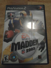 PLAY STATION 2 -EA SPORTS MADDEN NFL 2003--GAME + CASE