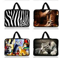 """14"""" Cool Netbook Laptop PC Sleeve Case Bag+Hide Handle For Dell Alienware M14x"""