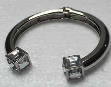 Art Deco Style Silver Plated  Flexible Braclet