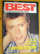 REVUE COLLECTION ** DAVID BOWIE ** BEST - ANNEE 1981 - N°158