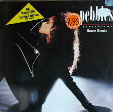 "12"" MAXI - Pebbles ‎– Girlfriend,NEAR MINT, MCA Records  257 993-0 Germany 1987"