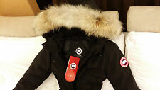"BRAND NEW BLACK ""RED LABEL"" CANADA GOOSE TRILLIUM SMALL ARCTIC PARKA JACKET"
