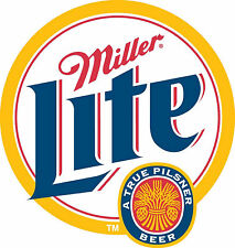 "Miller Lite Vinyl Sticker Decal 6"" (full color vintage)"