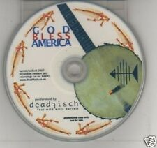 (F885) Deadfisch, God Bless America - DJ CD
