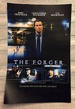 John Travolta Signed Movie Poster: The Forger 12 X 18