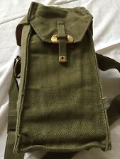BELGIUM ARMY ENGINEER'S BAG ,CARRIER,1950S ERA, CANVAS