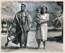 SAMOA c. 1940 - Pago Native Family Océanie - GF 233