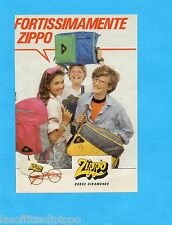 TOP986-PUBBLICITA'/ADVERTISING-1986- ZIPPO - BORSE GIRAMONDO