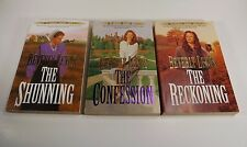 LOT OF 5 BEVERLY LEWIS-AMISH-1,2,3 HERITAGE LANCASTER COUNTY-ABRAM'S DAUGHTERS