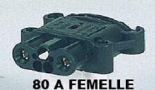 CONNECTEUR PRISE FEM 80 Amp FEMELLE DIN 43589-1 TRANSPALETTE CHARIOT ELEVATEUR