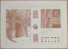 RICORDI DI ARCHITETTURA BASILICA DI S. AMBROGIO MILANO MILAN LOMBARDIA 1891