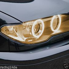 Neon Standlichtringe G7 BERNSTEIN f. BMW 3er E46 Cabrio Facelift CCFL Angel Eyes