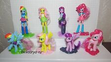 MY LITTLE PONY EQUESTRIA GIRLS SET MAGIC KINDER SURPRISE FS292-FS299 + all bpz