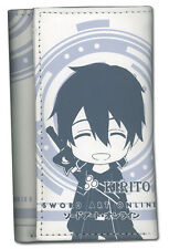 **License** Sword Art Online Kirito Key Holder Trifold Wallet #37013