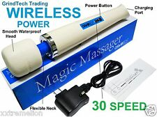 Genuine Original Ultimate Magic Wand Massager 30 SPEED Hitachi Motor WIRELESS