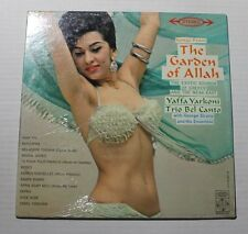 YAFFA YARKONI Songs From The Garden of Allah Epic Rec BF-19025 US 1963 M 0E