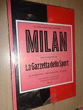 MAXI BOOK LA LEGGENDA DEL GRANDE MILAN NELLE PAGINE DE LA GAZZETTA DELLO SPORT