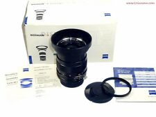 Zeiss 28/2 Distagon ZF lens with hood,caps,B+W UVa filter in box Mint-