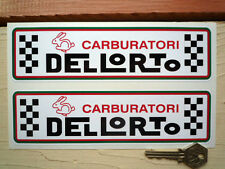 DELLORTO RABBIT style Motorcycle Scooter Car stickers