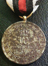 ✚6230✚ German medal for non combatants Franco-Prussian War Iron Cross 1870 1871