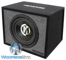 "MEMPHIS PRXE12S 12"" CAR SUB 600W LOADED SUBWOOFER BASS SPEAKER PORTED BOX NEW"