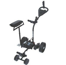 Electric Buggy w/Battery, Charger, Box Seat, Anti-Tipping Wheel, Umbrella Holder