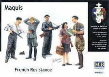 MAQUIS - FRENCH RESISTANCE  1/35 MASTERBOX