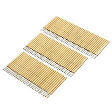 100pcs PCB Bare Board Spring Loaded Test Probe Pin P75 B1 100g 1.02mm Diameter