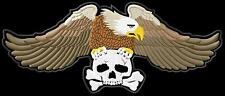 Eagle 3 colours skull XL Aufnäher iron-on patch