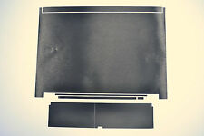 Dell Latitude E6400 Black Laptop Skin Cover Decal for Lid and Palmrest