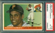 Roberto Clemente 1955 Topps Rookie - PSA 4 - Sharp Card!