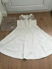 Abercrombie & Fitch (New) Cream Dress - Size Womens Large