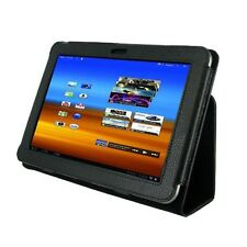 For Samsung Galaxy Tab 8.9 P7300 P7310 Leather Case Cover Slim Smart Stand Black