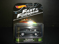 Hot Wheels Dodge Charger R/T 1970 Fast and Furious 1/64