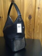 FURLA Leather Hobo~Black~Made In Italy~NWT
