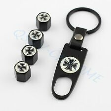 Truck Wheels Tyre Valve Stem Air Cap Cover Trim Motorcycle Accessory Cross Style