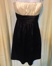 DELIAS FORMAL COCKTAIL DRESS WEDDING NEW YEARS EVE BRIDAL SZ 7/8 MADE IN USA